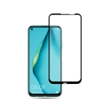 For Huawei P40 Lite 2pcs mocolo 0.33mm 9H 2.5D Full Glue Tempered Glass Film