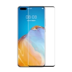For Huawei P40 Pro ENKAY Hat-Prince 0.26mm 9H 3D Explosion-proof Full Screen Curved Heat Bending Tempered Glass Film