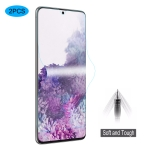For Galaxy S20+ 2 PCS ENKAY Hat-Prince 0.1mm 3D Full Screen Protector Explosion-proof Hydrogel Film