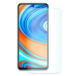 For Xiaomi Redmi Note 9/Note 9 Pro 5 PCS ENKAY Hat-prince 0.26mm 9H 2.5D Curved Edge Tempered Glass Film