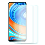 For Xiaomi Redmi Note 9/Note 9 Pro 10 PCS ENKAY Hat-Prince 0.26mm 9H 2.5D Curved Edge Tempered Glass Film