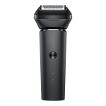 Original Xiaomi Mijia Electric Shaver Stainless Steel Shaving Machine with 5 Cutter Head(Black)