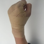 Self-adhesive Elastic Bandage for Sports, Size:450 x 10cm