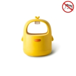 USB Home Silent Silent Light Touch Physical Mosquito Killer(Yellow)