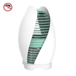 LED Home Photocatalyst Mosquito Killer, Style:USB In-line+Plug(Green)