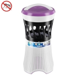 Household USB Mute Mosquito Repellent LED Mosquito Repellent Lamp, Style:Purple