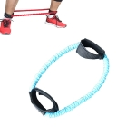 Ankle Pull Rope Leg Training Elastic Rope, Color:Blue 30LB