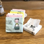 Colorful Cartoon Household Printing Paper Napkin Facial Tissue, Color Random Delivery