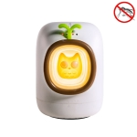 Mini USB Household Electronic Physical Mosquito Repellent Night Light(White)