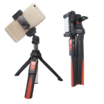 Benro MK10 Mobile Phone Live Bluetooth Remote Control Selfie Stick Tripod(Orange)