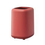 Household Kitchen Office Double-layer Trash Can(Red)