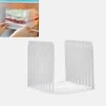 4 PCS Transparent Plastic Refrigerator Retractable Storage Partition Kitchen Food Storage Box Fruit Food Preservation Box
