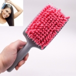 Hair Dryer Hair Comb Water-absorbing Fast Airbag Massage Comb Towel Comb(Pink)