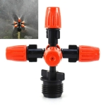 2 PCS Cross Five Outlet Spray Nozzle Gardening Greenhouse Watering Spray
