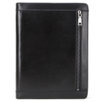 CF2015 For iPad Pro 11 / 10.5 / 9.7 inch Retro Crazy Horse Texture Zipper Multifunctional Tablet PC Protective Leather Case with Card Slots & Pen Slot & Photo Holder (Black)