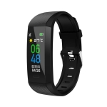 S03 0.96 Inch TFT Touch Screen IP67 Waterproof Smart Bracelet, Support Sleep Monitor / Heart Rate Monitor / Blood Pressure Monitoring (Black)
