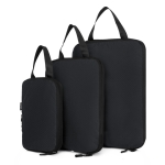 3 In 1 Waterproof Nylon Compression Travel Storage Bag (Black)