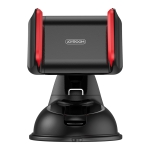 JOYROOM JR-OK1 Car Single Pull Silicone Suction Cup Phone Holder (Black Red)