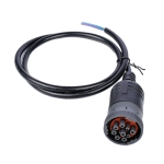 J1939-9Pin Trunk Diagnostic Interface Connect Cable