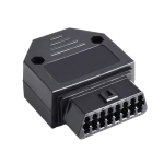 16PIN Car OBD 2 Female Connector OBD Plug + Case + Terminal + Screw