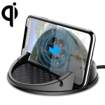 Universal Car Center Console Mount Qi Standard wireless Charger Bracket Phone Holder