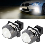 2 PCS IPHCAR I8S 3.0 inch DC9-12V / 38W / 5500K / 4800LM Car Double Light Headlight with Projector Lens for Left Driving
