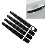 Car Carbon Fiber Door Handle Decorative Sticker for Chevrolet Cruze 2009-2015, Left and Right Drive Universal