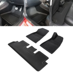 3 in 1 Car 3D Right Driving Foot Mat for Tesla Model 3