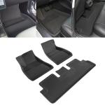 3 in 1 Car 3D Left Driving Foot Mat for Tesla Model 3