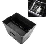 Car Double Layer Storage Box for Tesla Model 3 / Y (Black)