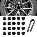 Wheel Drive Hub Adaptor Car Wheel Nut Screw Cap Protection Cover for Tesla Model 3