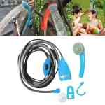 12V Portable Outdoor Universal Car Electric Shower Sprinkler Washer (Blue)