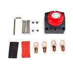 Car Auto RV Marine Boat Battery Isolator Disconnect Rotary Switch Cut with Terminals