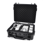 STARTRC Masonry Texture ABS Sealed Waterproof Box for DJI Mavic Air 2 (Black)