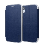 For iPhone XR CMai2 Linglong Series PC+PU Horizontal Flip Leather Case with Holder & Card Slot(Royal Blue)