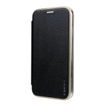 For iPhone XR CMai2 Linglong Series PC+PU Horizontal Flip Leather Case with Holder & Card Slot(Black)
