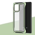 For Galaxy A91 Blade Series Transparent AcrylicProtective Case(Green)