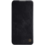 For Huawei P40 Lite NILLKIN QIN Series Crazy Horse Texture Horizontal Flip Leather Case With Card Slot(Black)