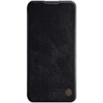 For Galaxy A11 NILLKIN QIN Series Crazy Horse Texture Horizontal Flip Leather Case With Card Slot(Black)