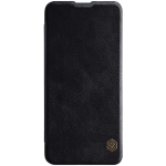 For Xiaomi Redmi K30 Pro NILLKIN QIN Series Crazy Horse Texture Horizontal Flip Leather Case With Card Slot(Black)