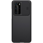 For Huawei P40 Pro NILLKIN Black Mirror Series Camshield Full Coverage Dust-proof Scratch Resistant Mobile Phone Case(Black)