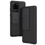 For Galaxy S20 Ultra / S20 Ultra 5G NILLKIN Black Mirror Pro Series Camshield Full Coverage Dust-proof Scratch Resistant Mobile Phone Case(Black)