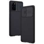 For Galaxy S20+ / S20+ 5G NILLKIN Black Mirror Pro Series Camshield Full Coverage Dust-proof Scratch Resistant Mobile Phone Case(Black)
