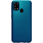 For Galaxy M31 NILLKIN Frosted Concave-convex Texture PC Protective(Blue)