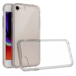 For iPhone SE (2020) Scratchproof TPU + Acrylic Protective Case(Grey)