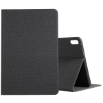 For Huawei Matepad 10.4 Cloth TPU Protective Case with Holder(Black)