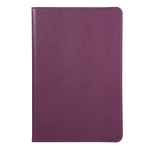For Huawei Matepad 10.4 Litchi Texture Horizontal Flip 360 Degrees Rotation Leather Case with Holder(Purple)