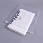 100 PCS Lot Storage Bag PE Zipper Lock Portable Travel Pouch Home Storage Organizati Pocket Clothes Storage, Size:25 x 30cm(Transparent 12 Silk)