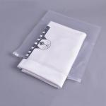 100 PCS Lot Storage Bag PE Zipper Lock Portable Travel Pouch Home Storage Organizati Pocket Clothes Storage, Size:25 x 30cm(Transparent 8 Silk)