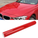 8 x 0.5m Auto Car Decorative Wrap Film Crystal PVC Body Changing Color Film(Crystal Red Carmine)